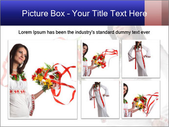 Ukrainian Folk Fashion PowerPoint Template - Slide 19