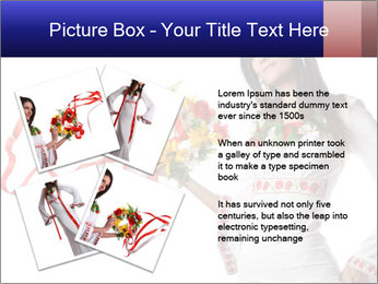 Ukrainian Folk Fashion PowerPoint Template - Slide 23