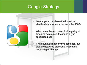 Bus Stop PowerPoint Templates - Slide 10
