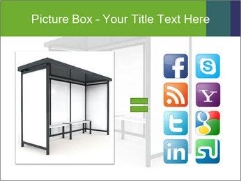 Bus Stop PowerPoint Templates - Slide 21