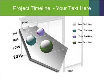 Bus Stop PowerPoint Templates - Slide 26