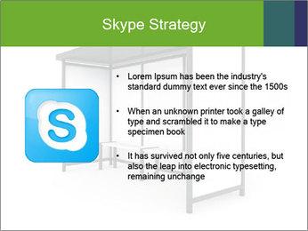 Bus Stop PowerPoint Templates - Slide 8