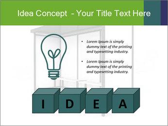 Bus Stop PowerPoint Template - Slide 80