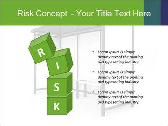 Bus Stop PowerPoint Templates - Slide 81