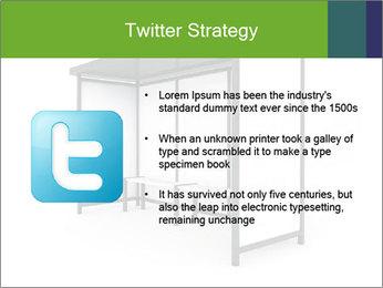 Bus Stop PowerPoint Templates - Slide 9