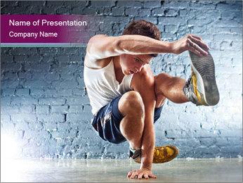 European Dancer PowerPoint Template