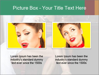 Bride with Perfect Body PowerPoint Template - Slide 18