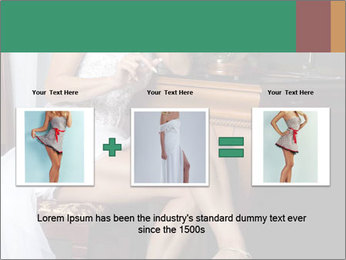 Bride with Perfect Body PowerPoint Templates - Slide 22