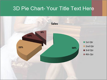 Bride with Perfect Body PowerPoint Templates - Slide 35