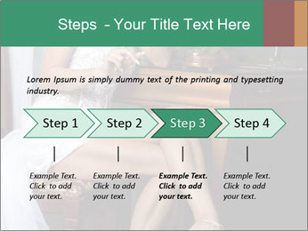 Bride with Perfect Body PowerPoint Template - Slide 4