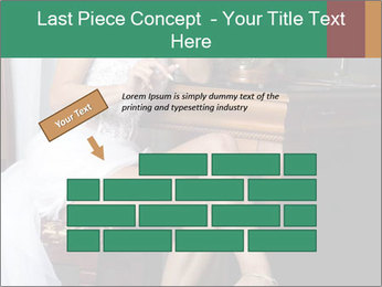 Bride with Perfect Body PowerPoint Templates - Slide 46