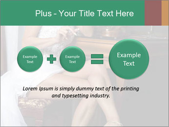 Bride with Perfect Body PowerPoint Templates - Slide 75