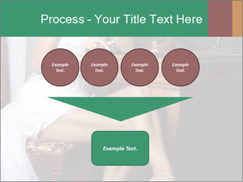 Bride with Perfect Body PowerPoint Templates - Slide 93