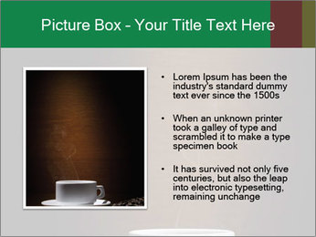 White Coffee Cup PowerPoint Template - Slide 13