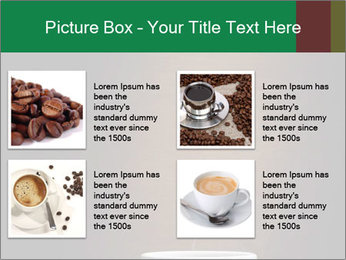 White Coffee Cup PowerPoint Template - Slide 14