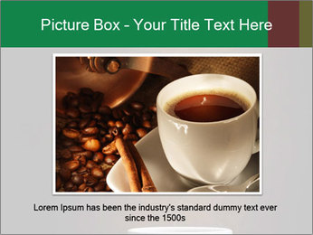 White Coffee Cup PowerPoint Template - Slide 15
