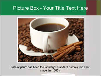 White Coffee Cup PowerPoint Template - Slide 16
