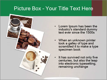 White Coffee Cup PowerPoint Template - Slide 17