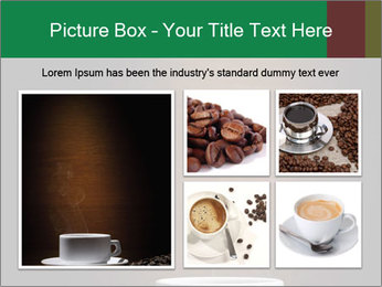 White Coffee Cup PowerPoint Template - Slide 19