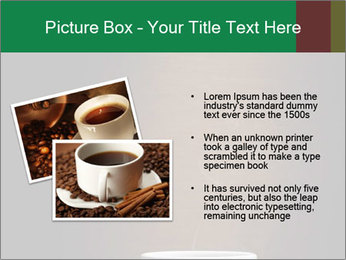White Coffee Cup PowerPoint Template - Slide 20