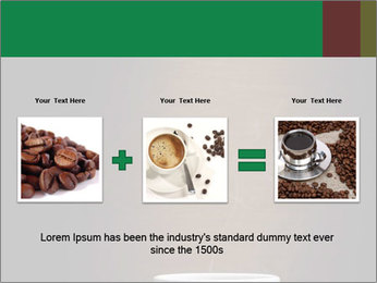 White Coffee Cup PowerPoint Template - Slide 22