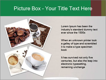 White Coffee Cup PowerPoint Template - Slide 23