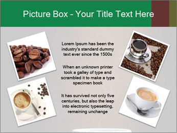 White Coffee Cup PowerPoint Template - Slide 24