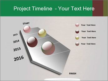White Coffee Cup PowerPoint Template - Slide 26