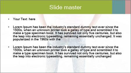 Casual Denim Look PowerPoint Template - Slide 2