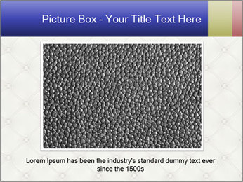 White Leather Textile PowerPoint Templates - Slide 16