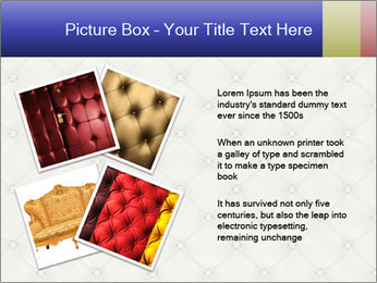 White Leather Textile PowerPoint Templates - Slide 23