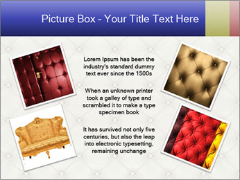 White Leather Textile PowerPoint Templates - Slide 24