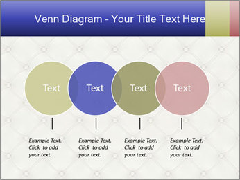 White Leather Textile PowerPoint Templates - Slide 32