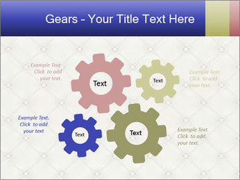 White Leather Textile PowerPoint Templates - Slide 47