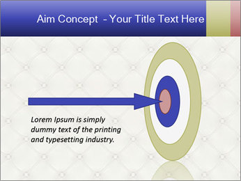 White Leather Textile PowerPoint Templates - Slide 83