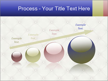White Leather Textile PowerPoint Templates - Slide 87
