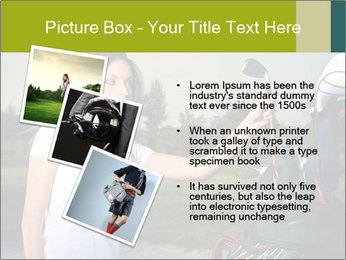 Young Golf Player PowerPoint Templates - Slide 17