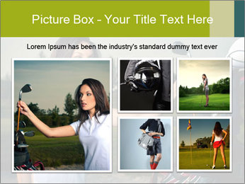 Young Golf Player PowerPoint Templates - Slide 19