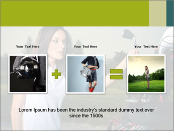 Young Golf Player PowerPoint Templates - Slide 22