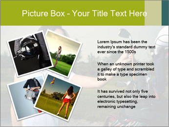 Young Golf Player PowerPoint Templates - Slide 23