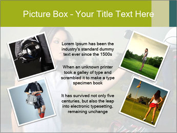 Young Golf Player PowerPoint Templates - Slide 24