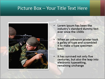 Soldiers at War PowerPoint Template - Slide 13