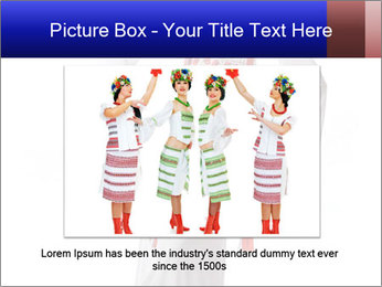 Folk Woman from Ukraine PowerPoint Template - Slide 16