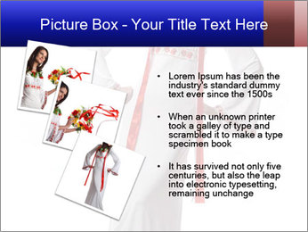 Folk Woman from Ukraine PowerPoint Template - Slide 17