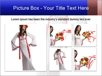 Folk Woman from Ukraine PowerPoint Template - Slide 19