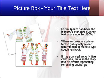Folk Woman from Ukraine PowerPoint Template - Slide 20