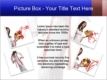 Folk Woman from Ukraine PowerPoint Template - Slide 24