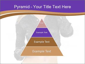 Blond Woman in Black PowerPoint Templates - Slide 30