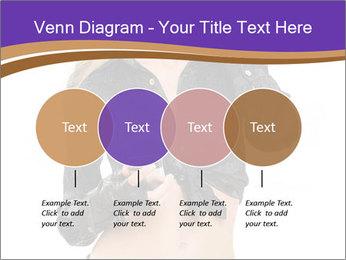 Blond Woman in Black PowerPoint Templates - Slide 32