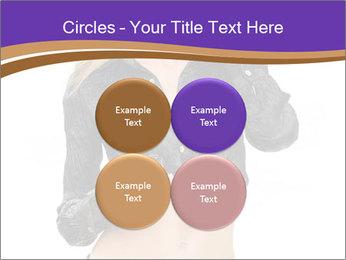 Blond Woman in Black PowerPoint Templates - Slide 38